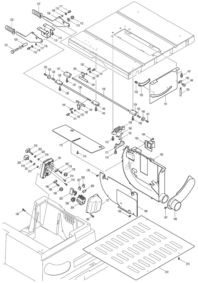 makita 2704 spare parts part shop direct