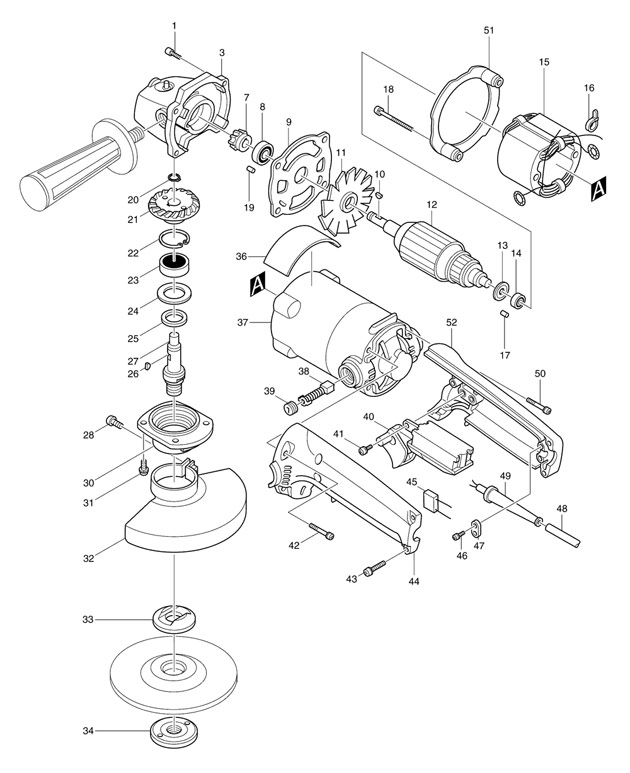 on makita 9005b wiring diagram