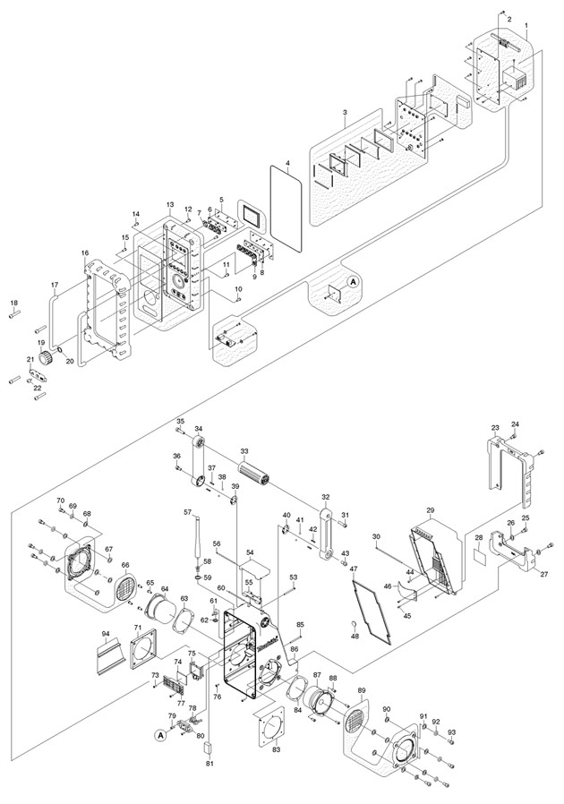 makita bmr101 spare parts