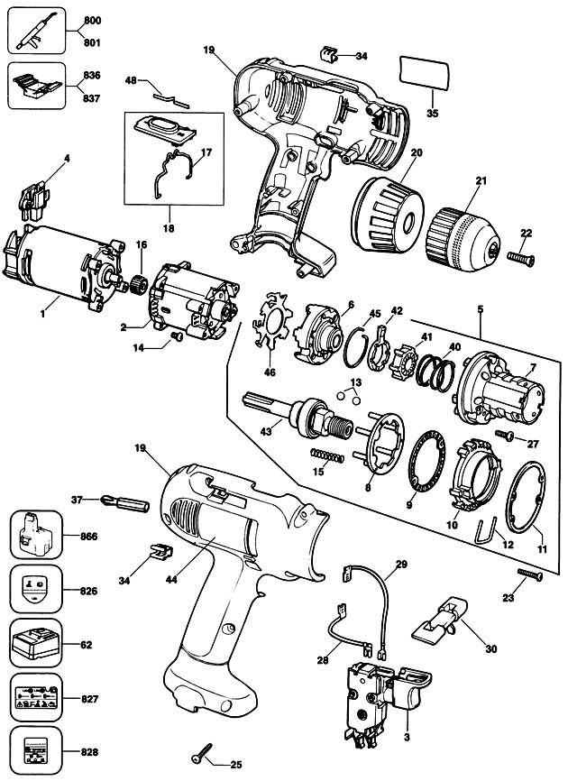 De Walt Drill Parts Related Keywords Suggestions