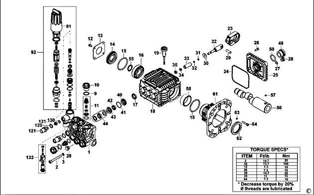 Dewalt Dp3750 Type 1 Pressure Washer Spare Parts Part