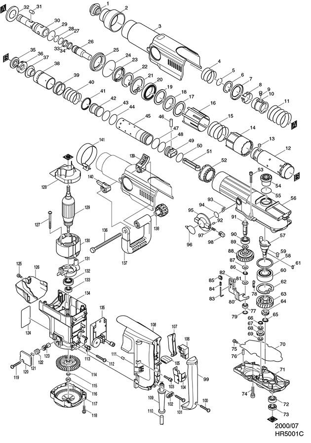 Makita Da Wiring Diagram on