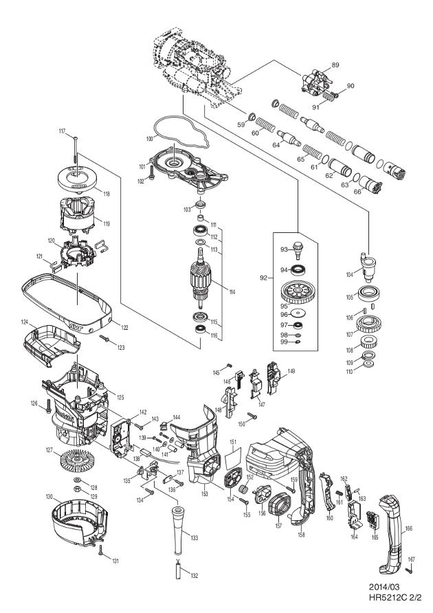 on makita hm1214c wiring diagram