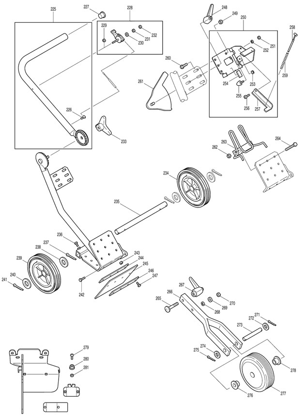 Makita DPC6400 Spare Parts - Part Shop Direct