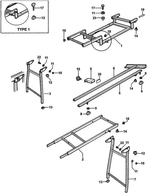 Elu ez4001 type 1 extension table spare parts part shop direct ex vat inc vat elu knob sa keyboard keysfo Gallery