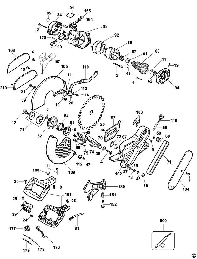dewalt compound miter saw parts. dewalt compound miter saw parts a