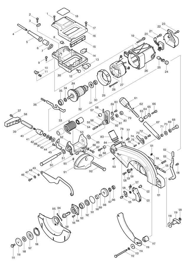 makita lf1000 spare parts part shop direct