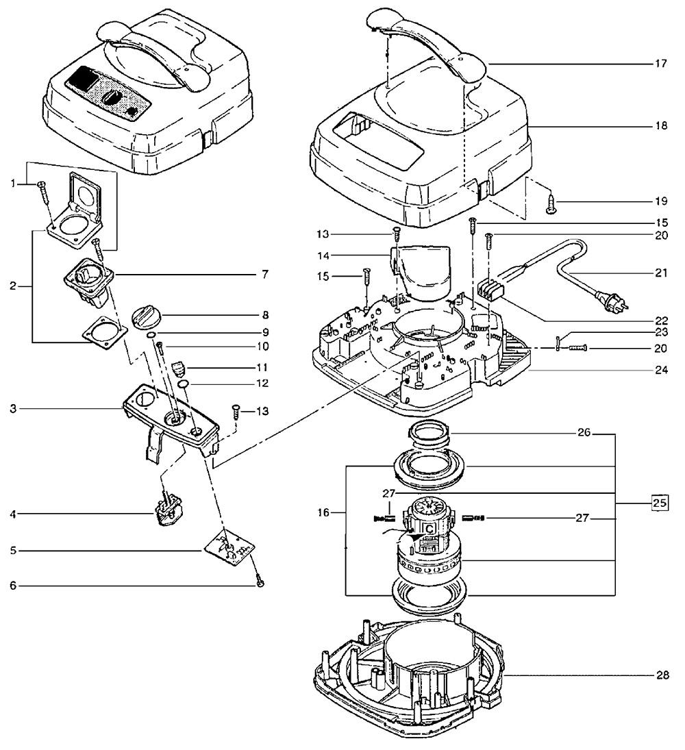 SRM SQ 650-3M Rundfaltenfilter f/ür Festool SRM 45 E-AS SRM 312 LE-AS SRM 70 LE-EC//B1 Staubkl M SQ 690-3M SQ 690-9M SRM 152 Nilfisk SQ 650-1M Renfert Vortex EC 2 M Papier Makita 444 M