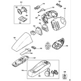 Black & Decker V7210 Type H1 Dustbuster Spare Parts