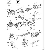 DeWalt D28152 Type 1 Small Angle Grinder Spare Parts D28152