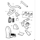 Black & Decker VH780 Type 1 Dustbuster Spare Parts