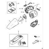 Black & Decker WV6015 Type H1 Dustbuster Spare Parts
