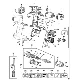DeWalt DC988K Type 1 Combination Unit Spare Parts