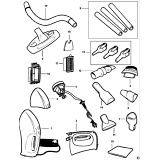 Black & Decker Z-HV7000 Type 1 Dustbuster Spare Parts
