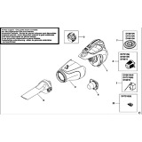 Black & Decker DV4810 Type H1 Dustbuster Spare Parts