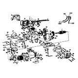 Black & Decker P4201 Type 1 Jigsaw Spare Parts P4201