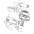 Black & Decker BD1400 Type 1 Heatgun Spare Parts
