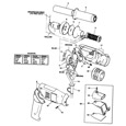 Black & Decker SPEC1666 Type 1 Heatgun Spare Parts