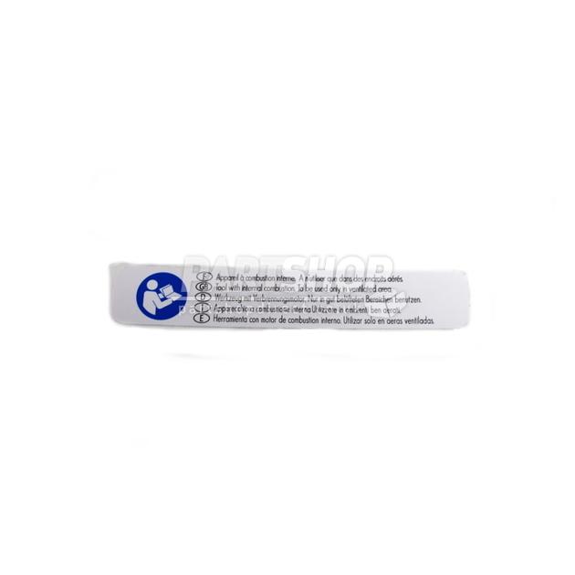 Paslode Warning Label Bottom 013672 Part Shop Direct