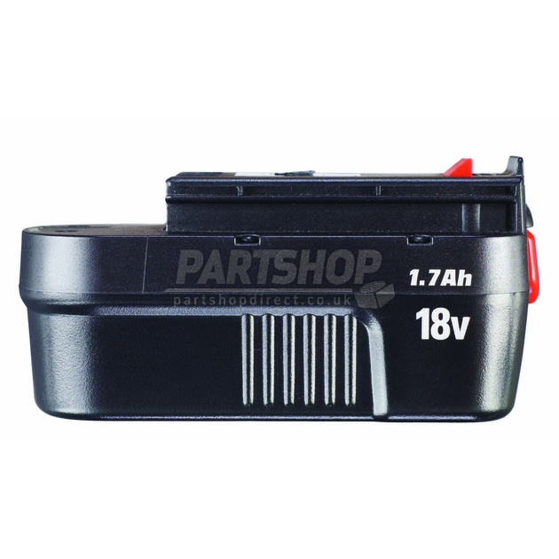 Black decker battery 18v a1718 5100385 57 part shop direct - Batterie black et decker 18v ...