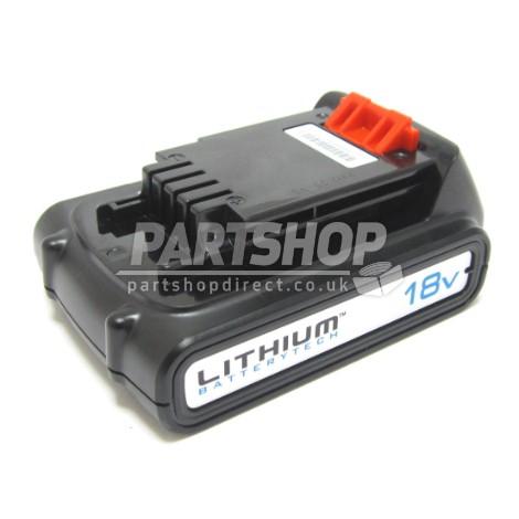 Black decker battery 18v bl1518 90558999 part shop direct - Batterie black et decker 18v ...