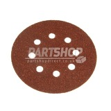 Random Oribit Sanding Discs Assorted 60g 80g 120g 180g - Pack of 5