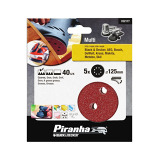 Random Oribit Sanding Discs 40g - Pack of 5