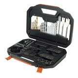 Titanium Drilling and Screwdriver Bit Accessory Set (100 Piece)