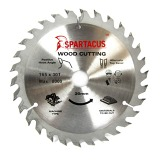 Spartacus 165 x 30T x 20mm Wood Cutting Circular Saw Blade