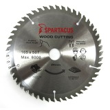 Spartacus 165 x 50T x 20mm Wood Cutting Circular Saw Blade
