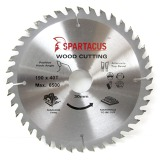 Spartacus 190 x 40T x 30mm Wood Cutting Circular Saw Blade